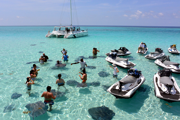 Stingray City Wave Runner Tours Grand Cayman Cruise