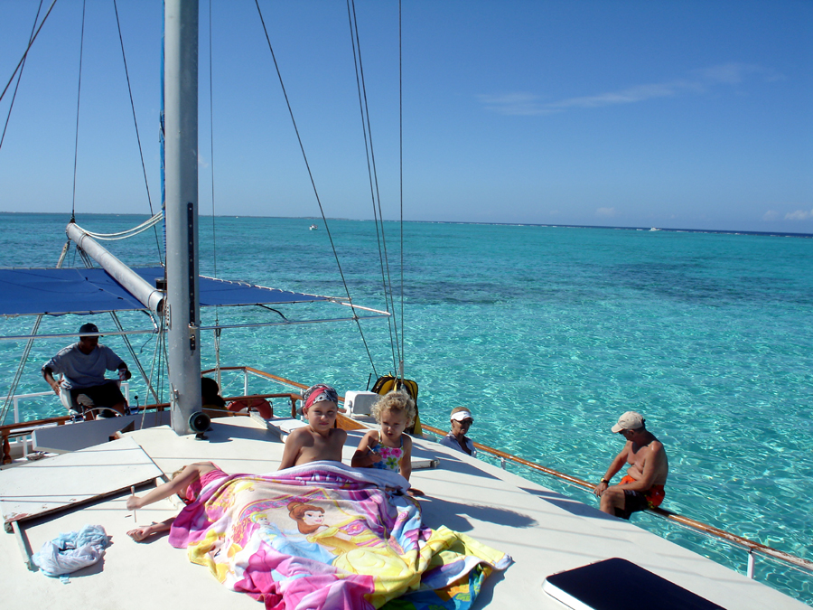 Buccaneer stingray city catamaran
