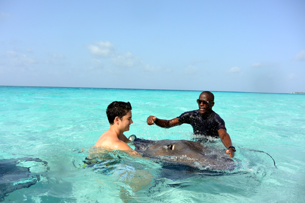 Grand Cayman Cayman stingray city waverunners excursion