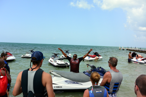Grand Cayman Cayman waverunners excursion