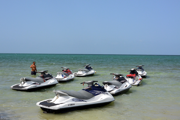 Grand Cayman Cayman waverunners excursion