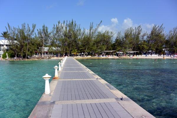 Rum Point dock grand cayman